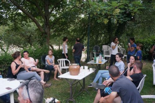 Fête club 06/2017 Apéro