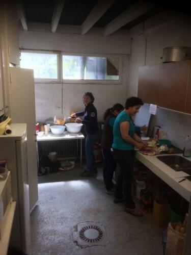 Championnats côté cuisine